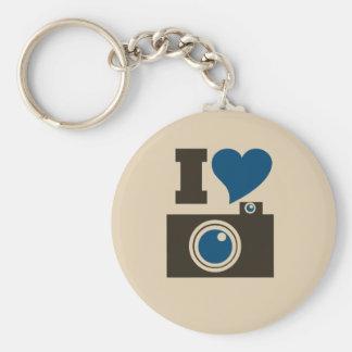 I Heart Camera Keychain