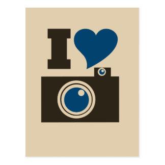I Heart Camera Postcard