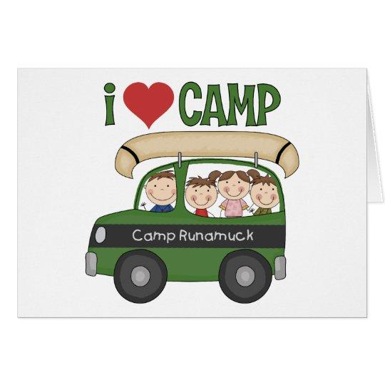I Heart Camp Card