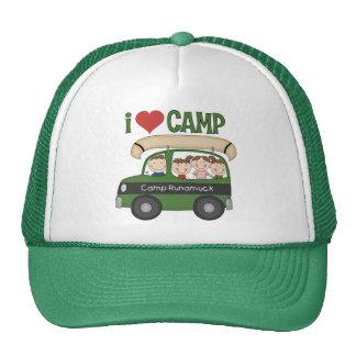 I Heart Camp Hats