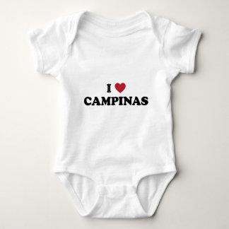 I Heart Campinas Brazil Baby Bodysuit