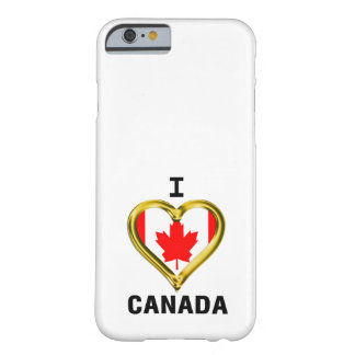 I HEART CANADA BARELY THERE iPhone 6 CASE