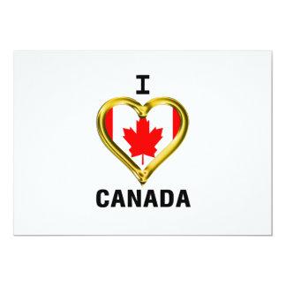 I HEART CANADA CARD
