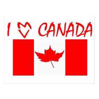 I Heart Canada Postcard