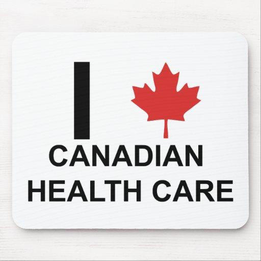 I Heart Canadian Health Care Mouse Pad