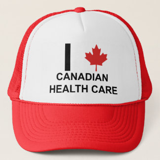 I Heart Canadian Health Care Trucker Hat