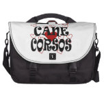 I Heart Cane Corsos Bags For Laptop