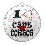 I Heart Cane Corsos Dartboards