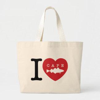 I Heart Cape Cod Canvas Bag