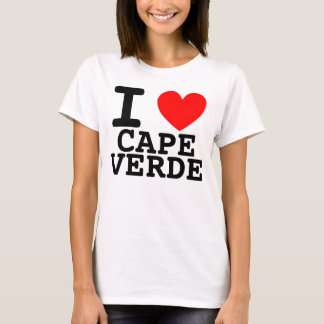 I Heart Cape Verde Shirt