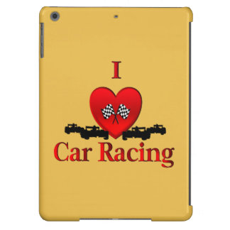 I Heart Car Racing Case For iPad Air