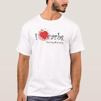 I Heart Carbs - Higher up graphic T-Shirt