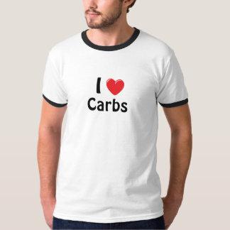 I Heart Carbs Tee Shirt