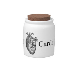 I Heart Cardio Candy Dishes
