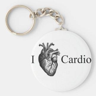 I Heart Cardio Keychain