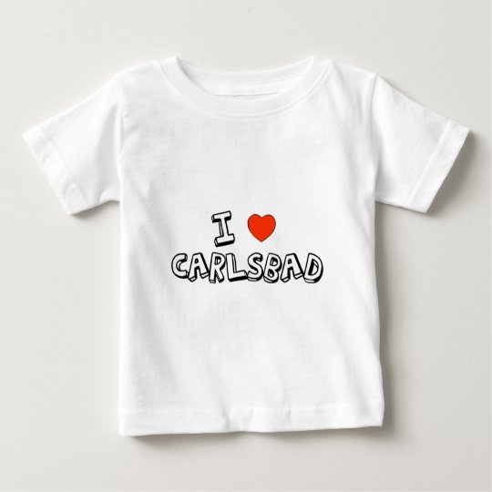 I Heart Carlsbad Baby T-Shirt
