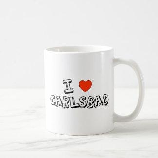I Heart Carlsbad Classic White Coffee Mug