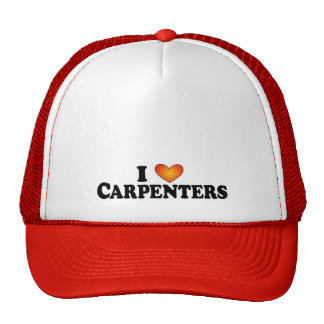 I (heart) Carpenters - Lite Multi-Product T-Shirt Trucker Hat
