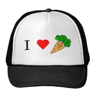 I heart Carrots Trucker Hat