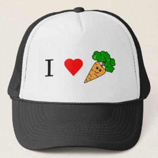 I heart Carrots Trucker Hat
