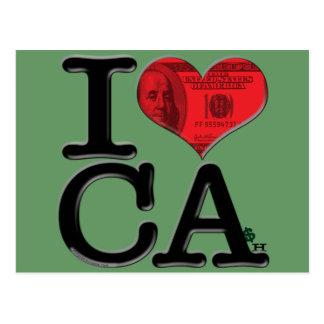 I (heart) CAsh Postcards