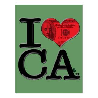 I (heart) CAsh Post Card