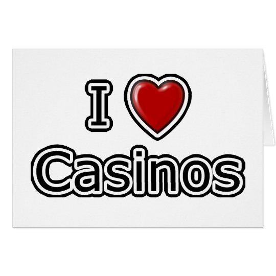 I Heart Casinos Card