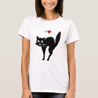 """I Heart Cat"" T-Shirt"