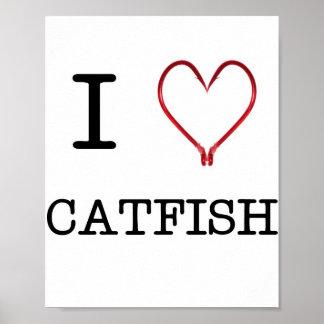 I [Heart] Catfish Poster