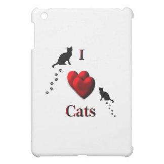 I Heart Cats iPad Mini Cover