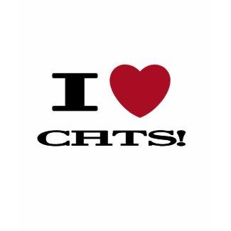 I (heart) Cats shirt