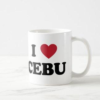 I Heart Cebu Philippines Mug