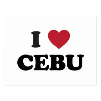 I Heart Cebu Philippines Postcard