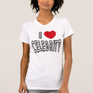 I Heart Celebrity T-Shirt