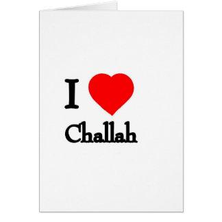 I Heart Challah Card
