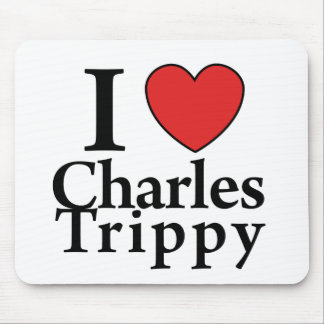 I Heart Charles Trippy Mouse Pad
