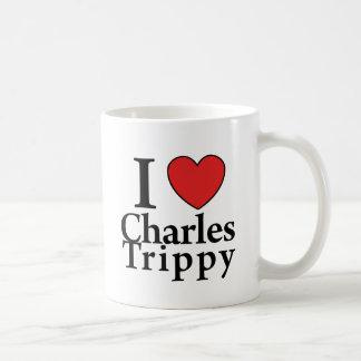 I Heart Charles Trippy Classic White Coffee Mug