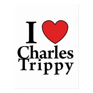 I Heart Charles Trippy Postcard