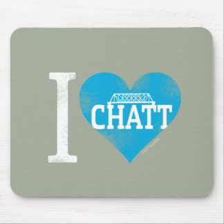 I Heart Chatt Collection Mouse Pad