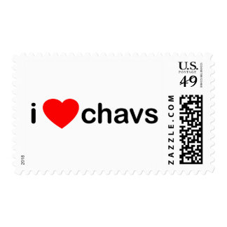 I Heart Chavs Postage Stamps