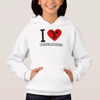 I Heart Cheerleading Hoodie