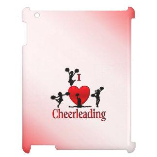 I Heart Cheerleading iPad Cover