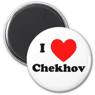 I Heart Chekhov 2 Inch Round Magnet