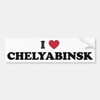 I Heart Chelyabinsk Russia Car Bumper Sticker
