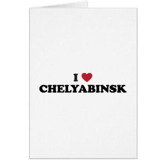 I Heart Chelyabinsk Russia Card