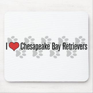 I (heart) Chesapeake Bay Retrievers Mouse Pad