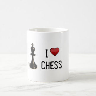 I Heart Chess Coffee Mug