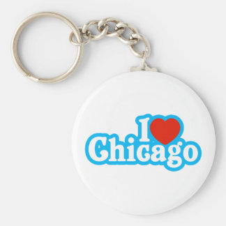 I Heart Chicago Keychain