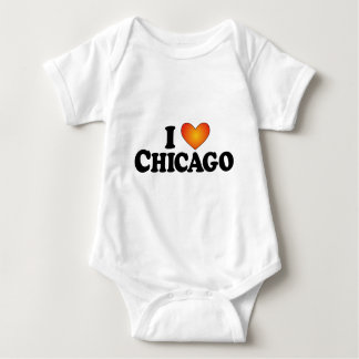 I (heart) Chicago - Lite Products Baby Bodysuit