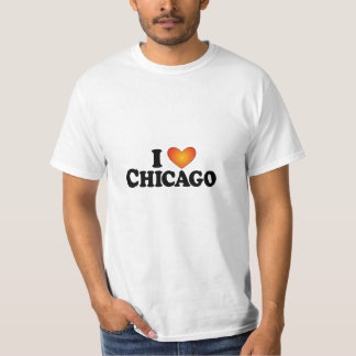 I (heart) Chicago - Lite Products Tee Shirt